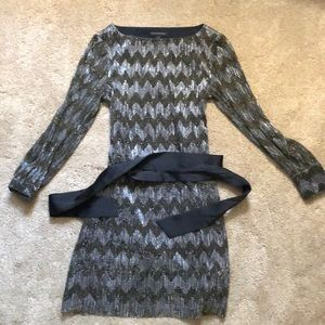 BR Chevron Party Dress